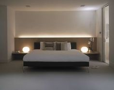 Maxwell Pinborough design & produce bespoke furniture & interiors from our East London premises. Modern Master Bedroom, Master Bedroom Design, Home Bedroom, Bedroom Furniture, Hotel Bedroom Design, Modern Bedroom Design, Contemporary Bedroom, Luxurious Bedrooms, Bespoke Furniture