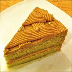 Cedele's gula melaka pandan kaya cake