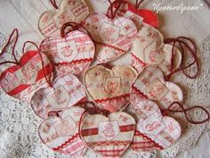 Gorgeous hearts to make.