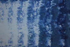 Handgefärbter Baumwollstoff, Shibori, Procion MX, für Patchwork, Quilt, Nähen, zur Freude.. Nr.223 von Unikatstoff auf Etsy