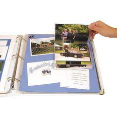 Memory Book Scrapbook Flip Pockets