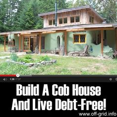 Please Share This Page: Build A Cob House And Live Debt-Free!Photo – http://www.youtube.com/watch?v=GbM2In5Hfx4 Here is a great video by w8mk about Cob Houses.The builders of these cob houses on the west coast of Canada have created some wonderful living spaces! The natural materials used give a warm, organic feel to the rooms and there is [...]