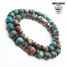 Bijoux Homme Bootleggers   Bracelet bootleggers Turquoise. Idée Cadeau ... 9d8c48327a7