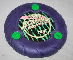vintage Rare Nerf Turbo Screamer Frisbee