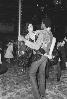 Bianca Jagger x Sterling St. Jacques at the Studio 54