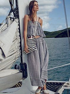 Set sail // Stripes For Likes Set