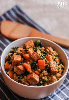 DSC_0789 Diet Recipes, Vegan Recipes, Cooking Recipes, Vegan Food, Healthy Food, Chana Masala, Tofu, Good Food, Dinner