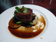 Eye fillet steak with awesome mushroom and potato is the best I've ever eaten. Cooked to perfection at Whet Restaurant, Cool Things To Make, Stuff To Do, Good Things, Daintree Rainforest, Best Places To Eat, The Good Place, Potato, Steak, Cape