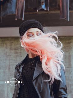 Stoney White Canton Ohio Portrait Session | pink hair senior fashion makeup photography woman girl