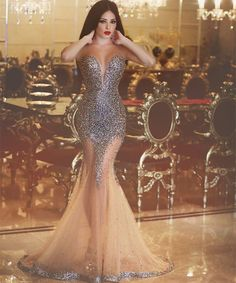 Sexy New Mermaid Evening Dress Sleeveless Floor Length Beading Tulle Prom Dresses Robe de soiree Sweetheart Prom Dress, Tulle Prom Dress, Strapless Prom Dresses, Dress Lace, Mermaid Evening Dresses, Evening Gowns, Evening Party, Vestidos Color Plata, Prom Dresses 2016