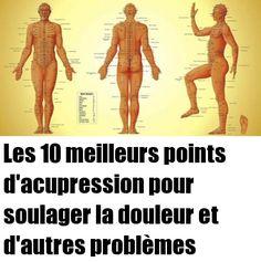 Les 10 meilleurs points d'acupression pour soulager la douleur et d'autres problèmes - Santé Nutrition