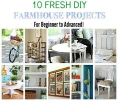 Farmhouse Style Projects that you can DIY