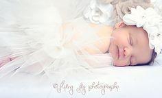 Newborn photography - vintage inspired newborn portraits #photography #studio #tutu #ballerina