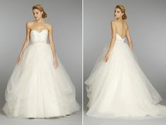 A-line ball gown wedding dress  | 100 Layer Cake