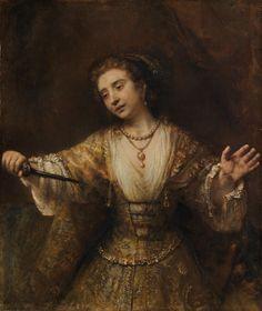 Rembrandt van Rijn Lucretia, 1664