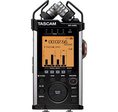 The DR-44WL brings improved audio specs, updated microphones, and WiFi transport control and file transfer to TASCAM's flagship portable audio recorder.
