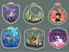 """littleblackchats: """"hawberries: """"XS paladins (charm designs, probably will be available around the start of oct!) """" Originally posted by piratevanrock """""""
