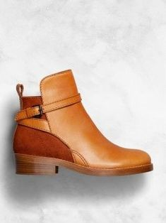Acne Clover low heeled jodphur boots with straps