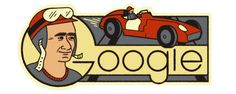 2016--- 105º Aniversario del nacimiento de Juan Manuel Fangio (Balcarce, provincia de Buenos Aires, Argentina, 24 de junio de 1911 – Buenos Aires, Argentina, 17 de julio de 1995) fue un automovilista de velocidad argentino. Es considerado uno de los mejores pilotos del automovilismo mundial de todos los tiempos por haber logrado cinco títulos mundiales de Fórmula 1 durante las temporadas de 1951, 1954, 1955, 1956 y 1957, y los subcampeonatos de 1950 y 1953.
