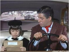 Donna Butterworth & Jerry Lewis in The Family Jewels (1965)