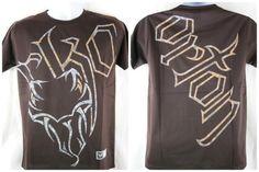 Randy Orton Dark Brown RKO Viper WWE T-shirt Size Adult Small