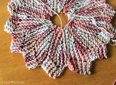 Almost Lost Washcloth Pattern TUTORIAL with pictures