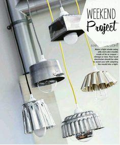 Lámparas geniales para un rincón de la cocina o restó