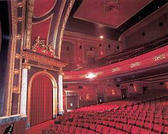 MONTREAL, CANADA -- Montreal's last surviving single screen movie palace, the is finally under restorat. Imperial Theater, Cinema Theatre, Logs, Montreal, Restoration, Mansions, Interior, Castles, Houses