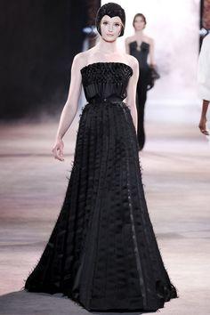 Ulyana Sergeenko Autumn/Winter 2013-14 Haute #Couture #PurelyInspiration