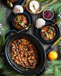 This time of year, you will most likely be invited to a potluck! Turkey Chili, all my problems solved! Turkey Thighs, Fresh Turkey, Poultry Seasoning, Turkey Chili, Cook At Home, Crock Pot Cooking, Freezer Meals, Chana Masala, Slow Cooker Recipes