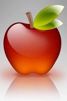 Image result for glass apple wallpaper free