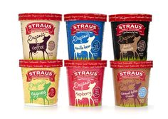 aside from the packaging and organic aspects... Straus has both eggnog & caramel toffee cruch icecream. YES!