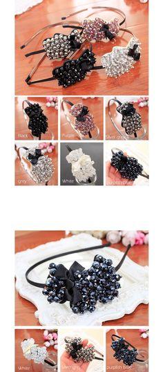 Moda Crystal & Acrílico Beads Decorado Fita Arcos Headband Faixa de Cabelo para Mulheres Meninas Chapelaria Acessórios Para o Cabelo em Acessórios Para o cabelo de Das mulheres Roupas & Acessórios no AliExpress.com | Alibaba Group