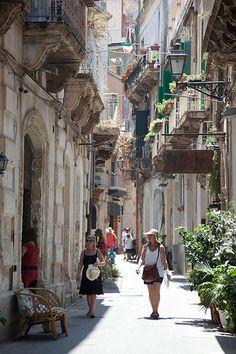 Italie, Sicile, Syracuse, île d'Ortygie