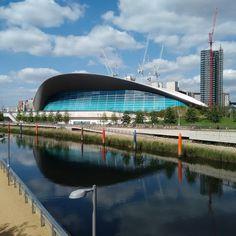 Aquatic Centre #london2012 #olympicpark #swimming #architecture #londonarchitecture