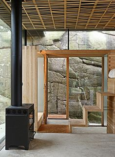 Interiors / Rocky Hideaway