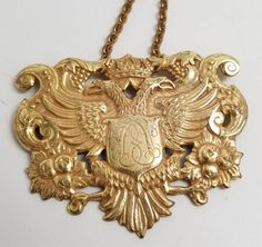 Vintage Miriam Haskell Imperial Russian Necklace