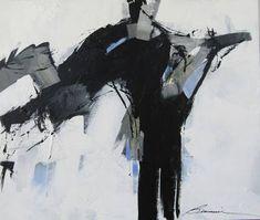 Hungarian Art Abstract Oil Teper