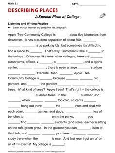 School, English, Learning English, Vocabulary, ESL, English Phrases, http://www.allthingstopics.com/school.html