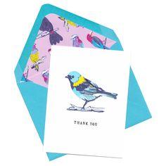 Birdie Thank You Single Card Set — LARK+RAVEN