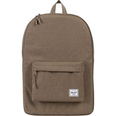 Herschel Supply Co. Classic Backpack (155 ILS) ❤ liked on Polyvore featuring bags, backpacks, brown, school & day hiking backpacks, knapsack bags, herschel supply co backpack, brown bag, backpacks bags and rucksack bag