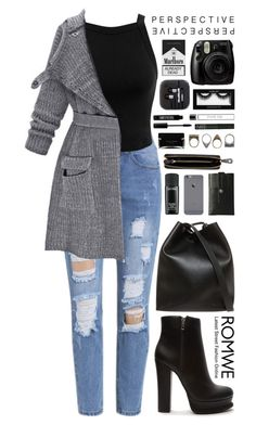 """Romwe 8"" by scarlett-morwenna ❤ liked on Polyvore featuring mode, Miss Selfridge, Forever 21, 3.1 Phillip Lim, Charbonize, Nomadic, Pull&Bear, Narciso Rodriguez, Fresh en NARS Cosmetics"