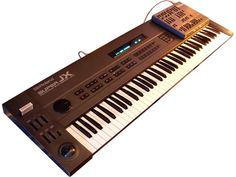 Roland Super JX 10 Launched in 1985, It Combined Two JX8P To Create Rich And Warm Sounds, Easy Programming Could Be Achieved With The Optional PG-800 Programmer. So...8+8 = 10