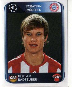 FC BAYERN MUNICH - Holger Badstuber 279 PANINI UEFA Champions league 2010-2011 Football Sticker