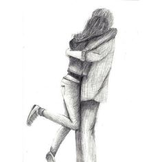 awesome, cool, couple, love ❤ liked on Polyvore featuring drawings, fillers, couples, doodles, art and scribble