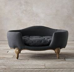 Luxe Upholstered Pet Beds | Restoration Hardware
