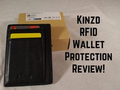 Kinzd Slim RFID Leather Wallet Review!