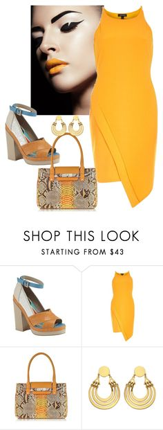 """""""Happy it's Friday?!! #Orange!"""" by ann-kelley14 on Polyvore featuring River Island and Ghibli"""