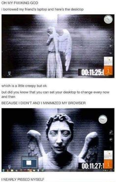 Funny pictures about Creepy Desktop Wallpaper. Oh, and cool pics about Creepy Desktop Wallpaper. Also, Creepy Desktop Wallpaper photos. Funny Shit, The Funny, Funny Memes, Funny Stuff, Random Stuff, Funny Pranks, Kids Pranks, Pranks Ideas, Bad Memes
