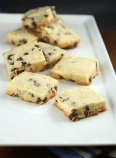 Authentic Suburban Gourmet: { Coconut - Chocolate Chip Shortbread Cookies }